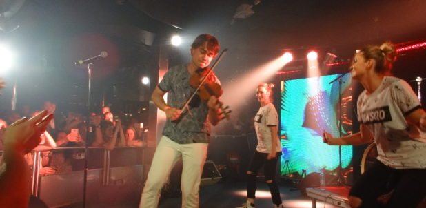 VIDEOS: Alexander Rybak performed on the Eurovision Cruise 2017