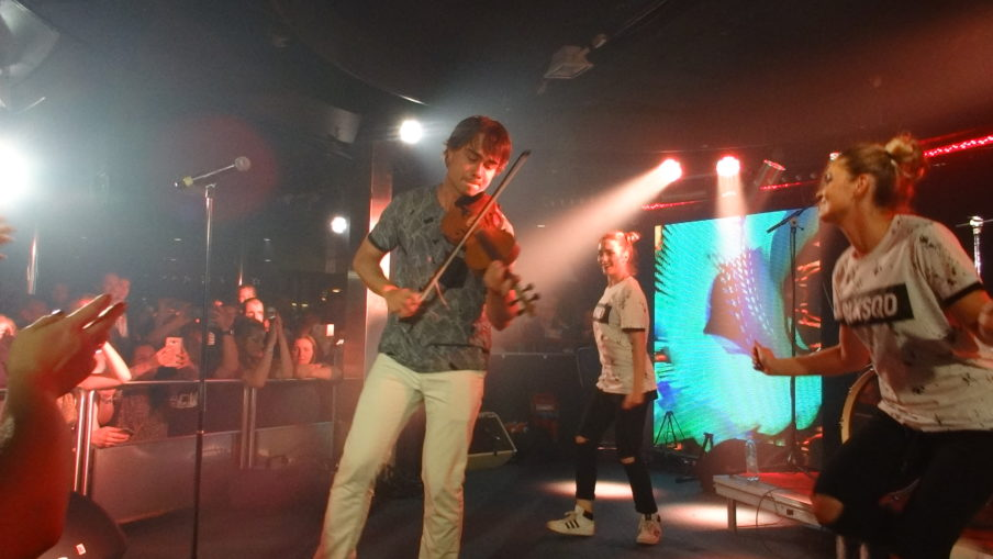 VIDEOS: Alexander Rybak performed on the Eurovision Cruise 2017