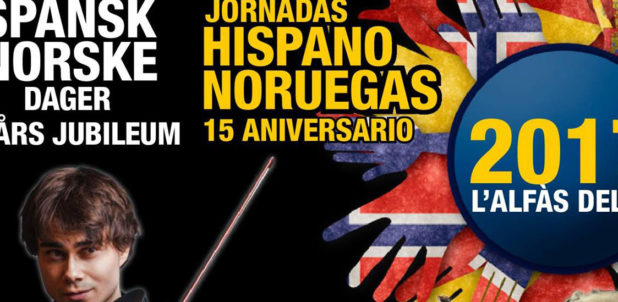Singer and violinist Alexander Rybak will participate in the XV Spanish – Norwegian Days in l'Alfàs
