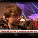 Alexander Rybak (31) makes Comeback in MGP