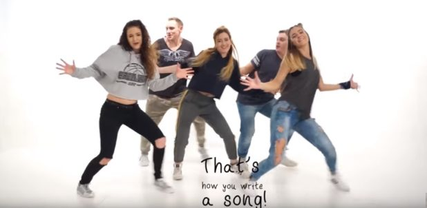 """New Video: """"That's How You Write A Song"""" – Lyric Dance Video by Time to Show Studio, Lithuania"""