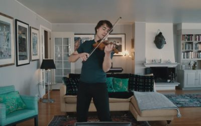 "New Video: Alexander Rybak  – ""Just The Way You Look Tonight"" (for my fans)"
