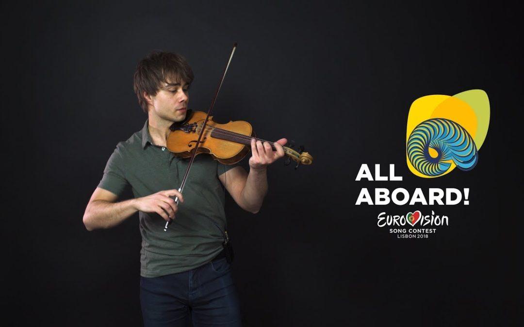New Video. Alexander Rybak: Melodi Grand Prix 2018 – All Contestants (Violin Jam)