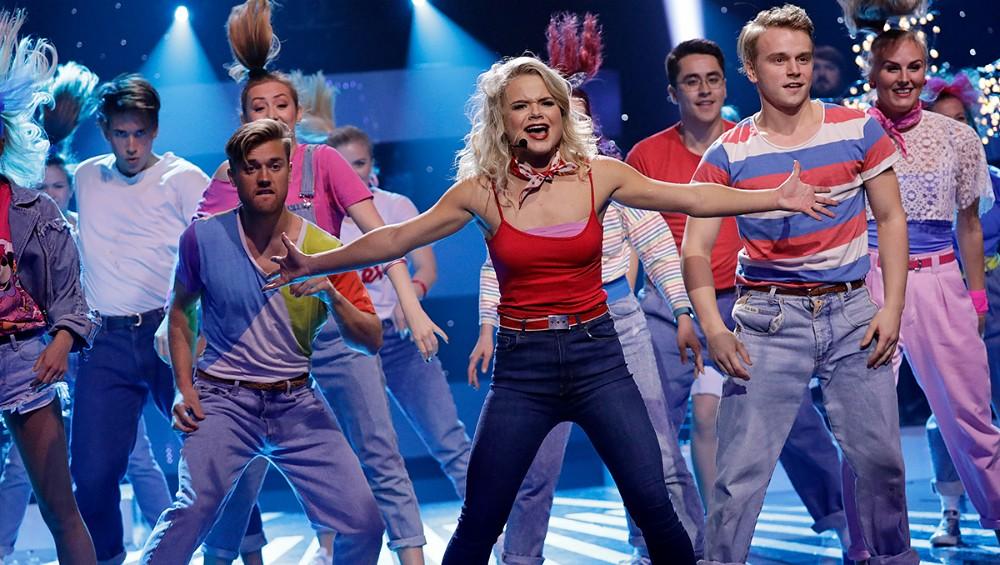 NRK.no: Lisa Børud handpicked to be a dancer for Rybak