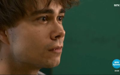 Lørdagsrevyen, NRK TV: Alexander Rybak and his delegation will travel to Lisbon this weekend