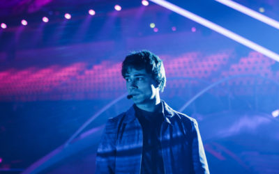 Alexander Rybak: May 1st – First Eurovision Rehearsal & Press Conference