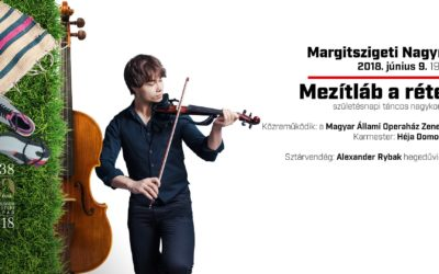 Alexander Rybak performs June 9th in Budapest, Hungary at a free open-air concert