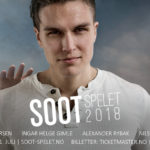 "Soot-Spelet 2018. Alexander Rybak performs in the historical play ""Soot Spelet"""