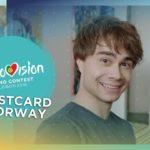 Postcard of Alexander Rybak from Norway – Eurovision 2018
