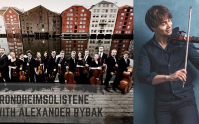 Trondheimsolistene with Alexander Rybak. Concert Tour, Autumn 2018