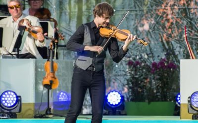 VG.no: Alexander Rybak performed for Crown-Princess Victoria