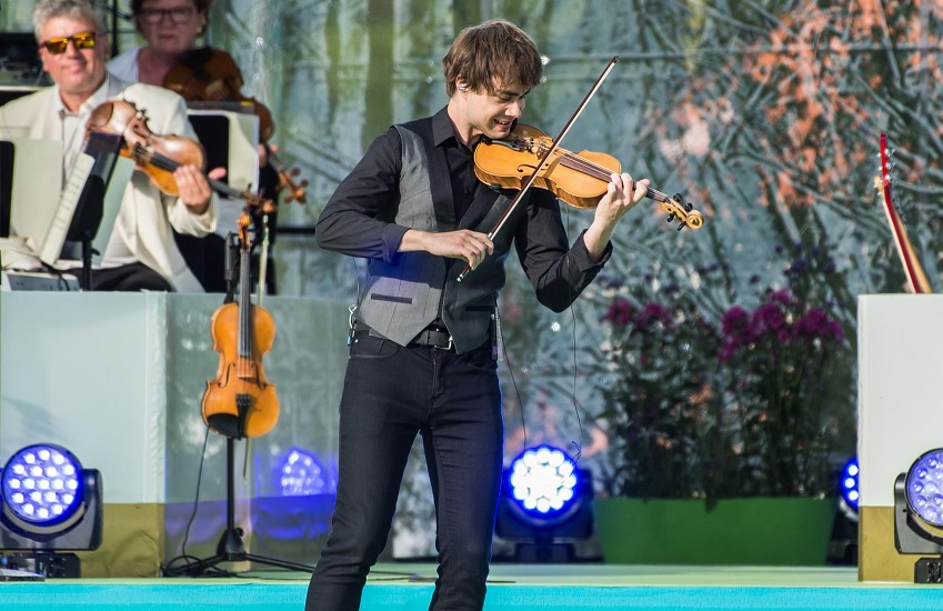 VG.no: Alexander Rybak performed for Crown-Princess Victoria