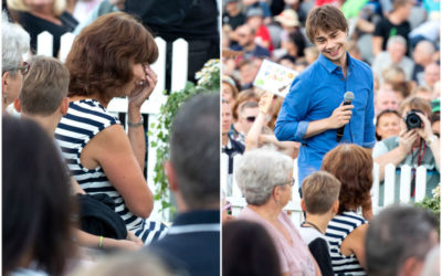 ŽMONĖS.LT : Alexander Rybak surprised his mother with an emotional present