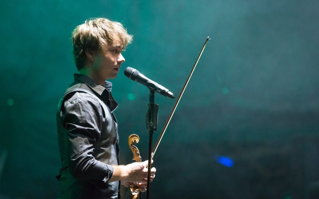 Ohtuleht.ee: Alexander Rybak at Baltic Sun Festival