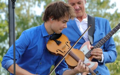 Videos and Photos. Alexander Rybak  performed at Allsang på Grensen 2018