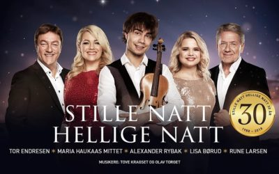 "Alexander Rybak on tour with the Christmas-Concerts ""Stille Natt Hellige Natt"" 2018"