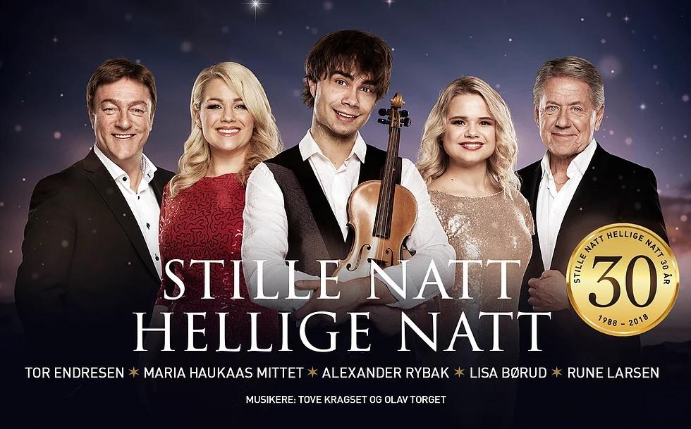 "Alexander Rybak on tour with the Christmas-Concerts ""Stille Natt Hellige Natt"" 2018"
