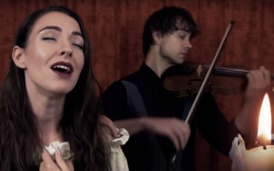 "New Video: Minniva & Alexander Rybak – ""Once Upon a December"" (Cover)"