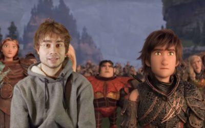 Alexander Rybak : Promo-Video for How To Train Your Dragon 3. (Norwegian w. English Subtitles)