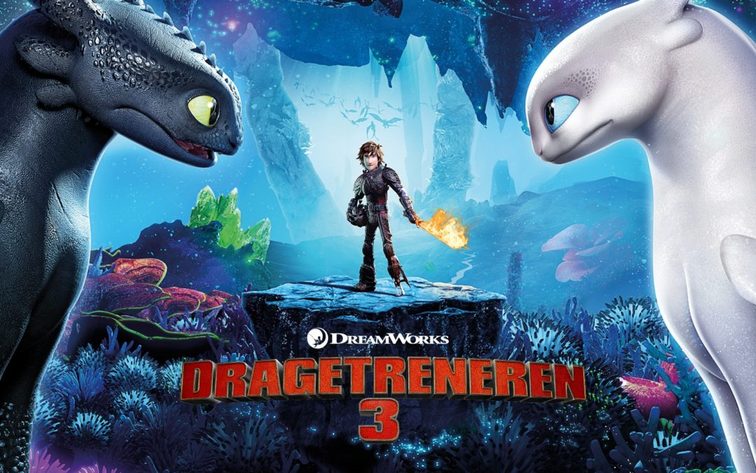 """Filmfront.no: Review of """"Dragetreneren 3"""" (How To Train Your Dragon: The Hidden World)"""