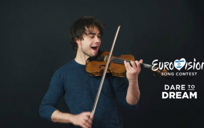 New Video: Eurovision Violin Mashup (With Hank Von Hell & Keiino)
