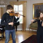 "New Video: Alexander Rybak & Ingrid Berg Mehus – ""Entracte"" for 2 violins"