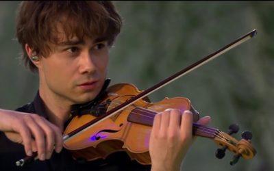 The Music World (Vietnam)- with Video: Alexander Rybak – the Violin Prince