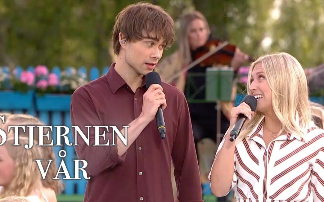 """New Video: """"Stjernen vår"""" from the TV-show """"Allsang på Grensen"""""""