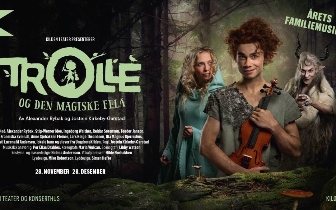 """""""Trolle og den Magiske Fela"""": A musical by Alexander Rybak & Jostein Kirkeby-Garstad"""