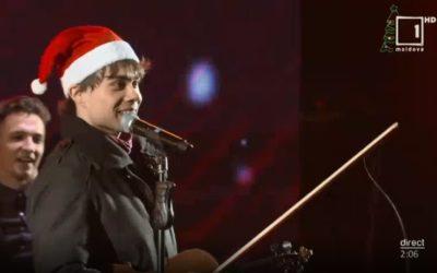 Alexander performed in Chisinau, Moldova on New Years' Eve 2019