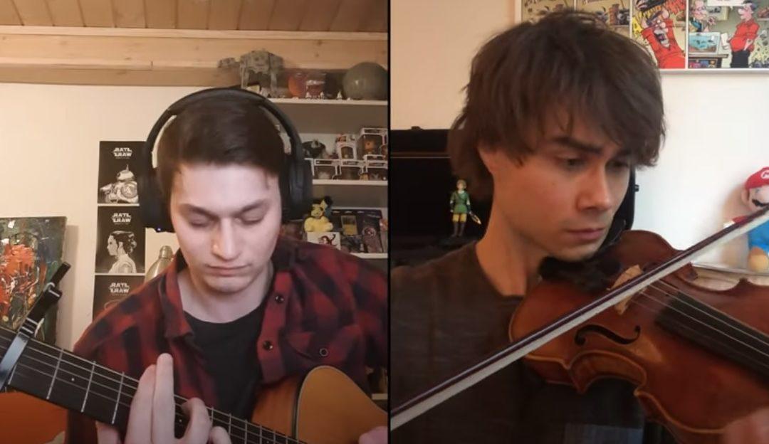 "New Video. Alexander Rybak & Thomas Leypoldt: ""Song from a Secret Garden"" Online Duet"