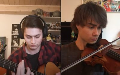 "New Video. Alexander Rybak & Thomas Leypoldt: ""Song from a Secret Garden"" Online Duet"