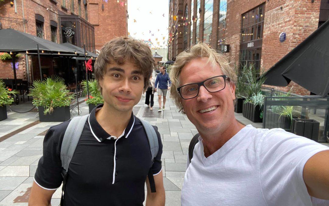 Alexander Rybak – Interview in 2 parts by Jarl Haugedal on Euro Stoop Talk – Crew Radio