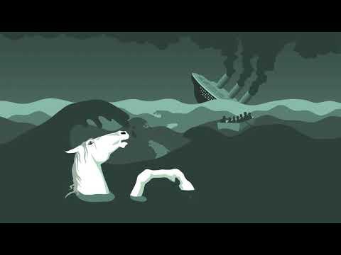 """New Video. """"13 horses"""" by Alexander Rybak – Animated video by Mina Brattsti Bache Mathiesen w. lyrics"""