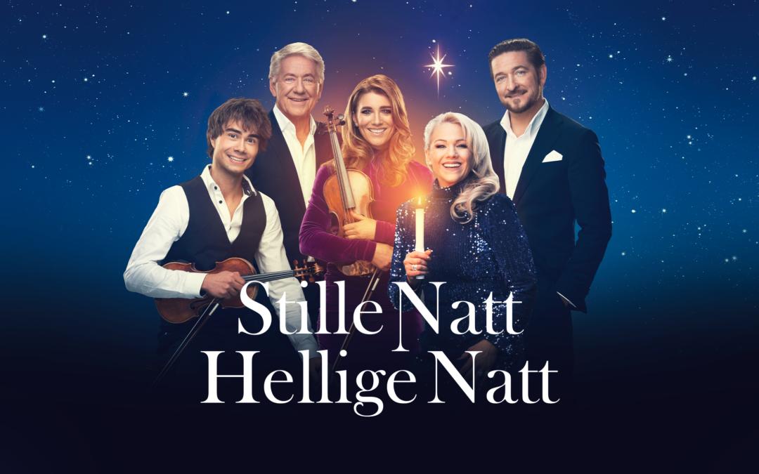 """Norway: Alexander Rybak stars in the Christmas Concert-Tour """"Stille Natt Hellige Natt"""""""